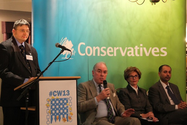 Chairing the Europe Debate at #CW13 Chester: February 2013